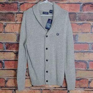 Chaps cardigan sweater